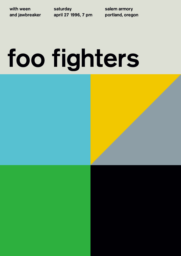 Modernismo suizo - foo_fighters
