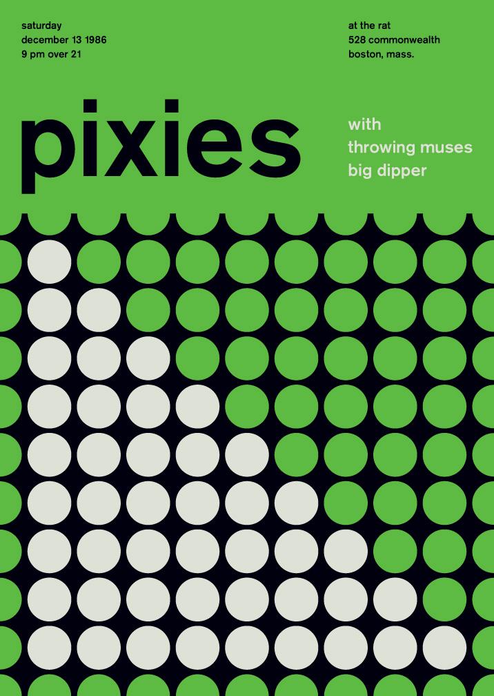 Modernismo suizo - pixies