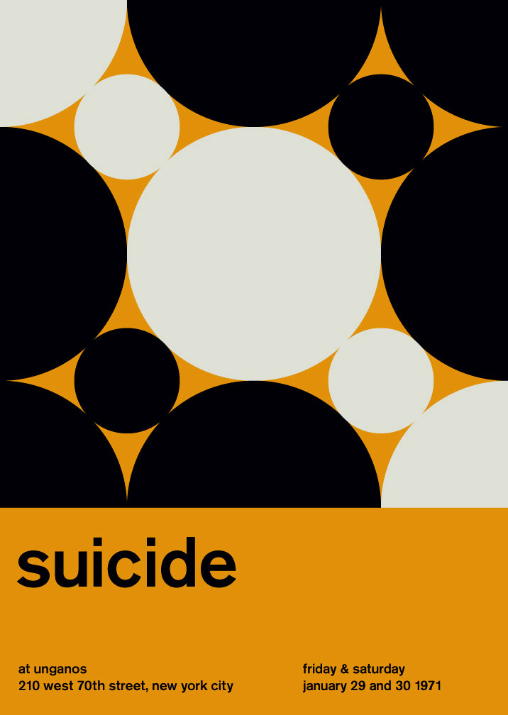 Modernismo suizo - suicide