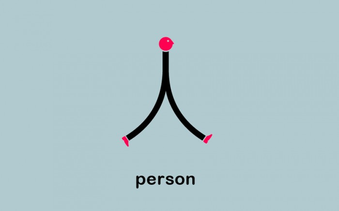 chineasy - Persona